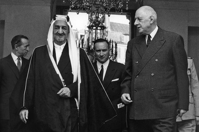 Charles de Gaulle vs Raja Faishal