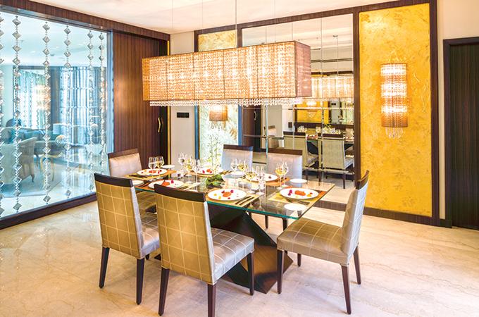Al Faisaliah Suites Based Upon A Range Of Interior Design Concepts With Each Floor Having Different Colour Scheme