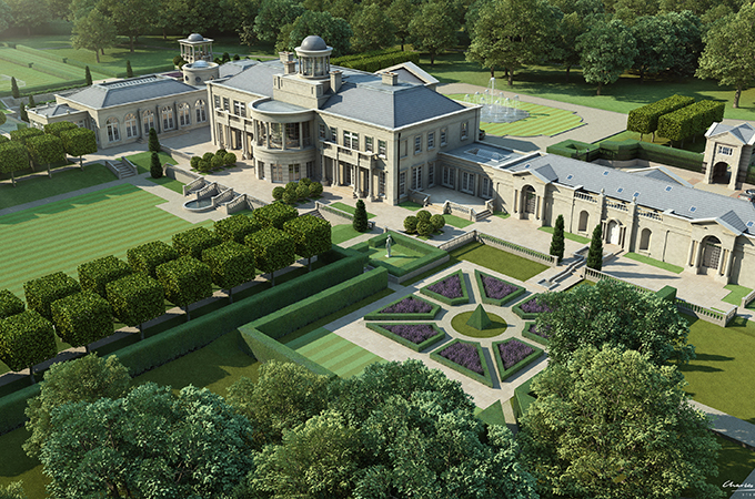 Conserou0027s Planned Windlesham House U2026 Set In 20 Acres Of Surrey Countryside,  It Will Be One Of The UKu0027s Largest New Homes With A Price Tag Og £60  Million ...