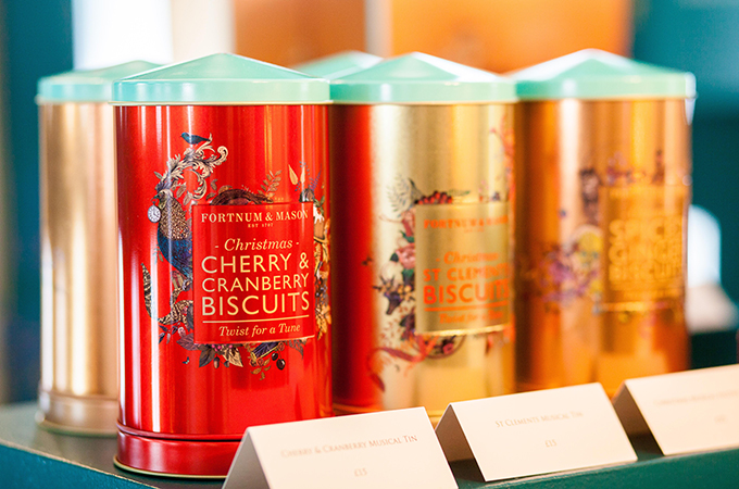 Fortnum mason spreads good cheer lifestyle - Fortnum and mason christmas decorations ...