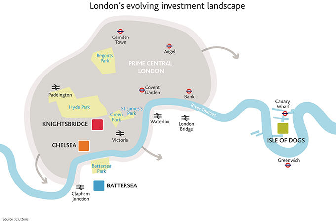 London investors 'may focus on new areas' - Real Estate & ... on london real estate chart, london real estate listings, london golf courses map, greater-london postcode map,