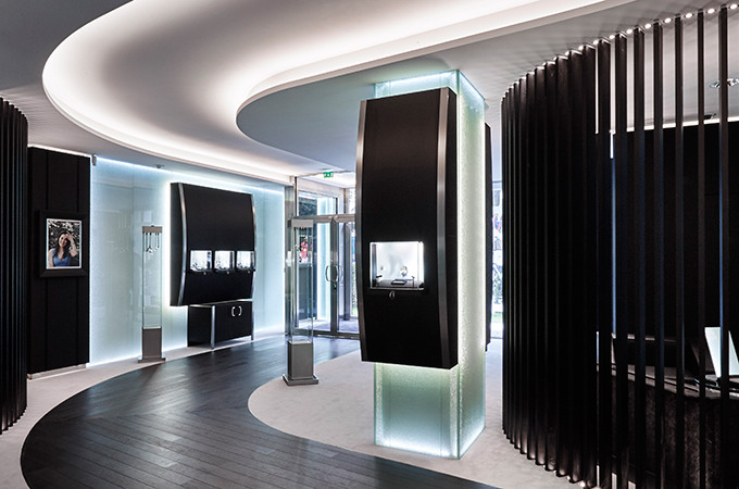 richard mille opens new paris boutique lifestyle. Black Bedroom Furniture Sets. Home Design Ideas