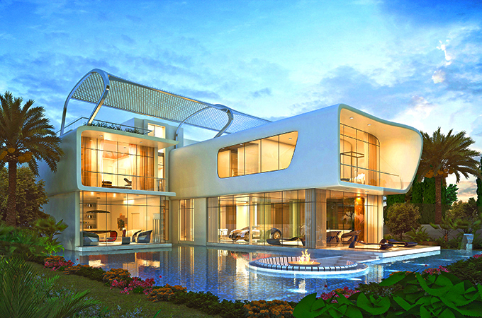Dubai to get world s first bugatti homes real estate for Dubai luxury homes photos