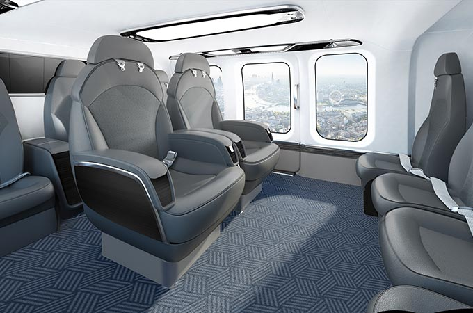 Bell 525 Gets A Magnificent Interior Private Aviation Premium Travel