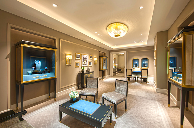 Harry winston refurbishes flagship london store lifestyle for 108 new bond street salon