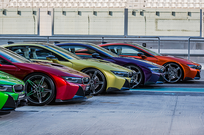 Bmw I8 Offered In Special Colours Motoring