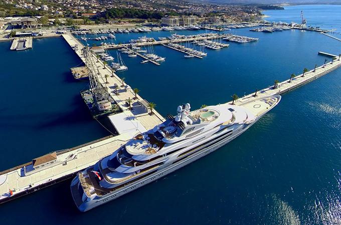 Porto Montenegro Has Biggest Yacht Berth Yachting
