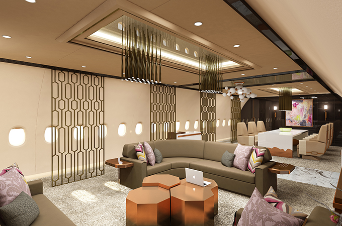 Aac Shows Off Acj350 Vvip Concepts Private Aviation