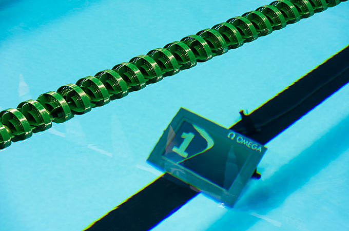 Lap counters keep Olympic swimmers on track