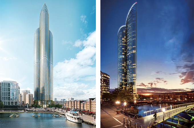 luxury residences at 1bn london spire to go on sale soon