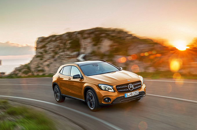 new mercedes gla makes waves motoring