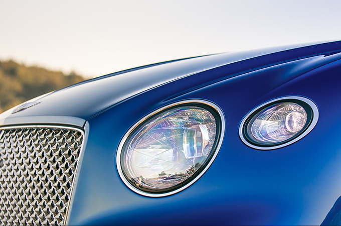 Radical Styling Departure ... The Carsu0027 Head Lamps Sport A Cut Crystal  Effect On Its Internal Surfaces.