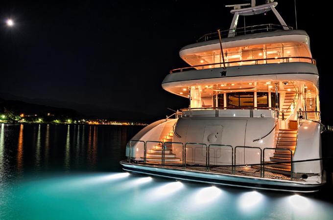 New Underwater Lighting For Yachts Yachting